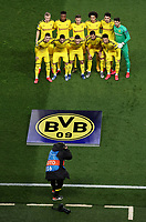 Soccer Football - Champions League - Round of 16 Second Leg - Paris St Germain v Borussia Dortmund - Parc des Princes, Paris, France - March 11, 2020  General view as Borussia Dortmund players pose for a team group photo before the match    <br /> Photo Pool/Panoramic/Insidefoto