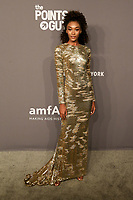 06 February 2019 - New York, NY - Cheyenne Carty. 21st Annual amfAR Gala New York benefit for AIDS research during New York Fashion Week held at Cipriani Wall Street.  <br /> CAP/ADM/DW<br /> &copy;DW/ADM/Capital Pictures
