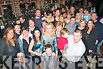 29 again: Karen Lyons(front,centre)from Ashley Downs,Tralee,really enjoyed the company that showed up for her 30th birthday party in Paddy Mac's bar Castle St,Tralee last Saturday night.