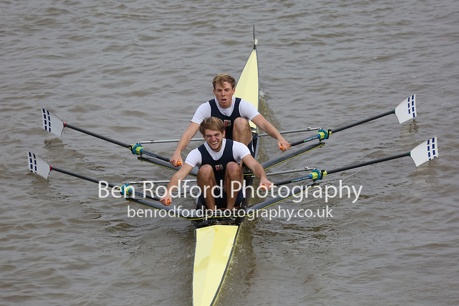 Crew: 3   LRC-PARNELL    London Rowing Club    Op 2x Champ <br /> <br /> Pairs Head 2017<br /> <br /> To purchase this photo, or to see pricing information for Prints and Downloads, click the blue 'Add to Cart' button at the top-right of the page.