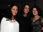 Siobhán Doyle celebrating her 40th brithday in Brú with Petra Doyle and Irene Murphy Photo:Colin Bell/pressphotos.ie