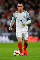 Wayne Rooney (Manchester United) of England during the FIFA World Cup qualifying match between England and Malta at Wembley Stadium, London, England on 8 October 2016. Photo by David Horn / PRiME Media Images.