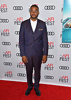 LOS ANGELES, CA. November 09, 2018: Kristopher Bowers at the AFI Fest 2018 world premiere of &quot;Green Book&quot; at the TCL Chinese Theatre.<br /> Picture: Paul Smith/Featureflash