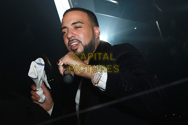 NEW YORK, NY - OCTOBER 23: French Montana at the after party for the V Magazine Dinner in honor of Karl Lagerfeld Le Bain at The Standard High Line in New York City on October 23, 2017. <br /> CAP/MPI/DIE<br /> &copy;DIE/MPI/Capital Pictures