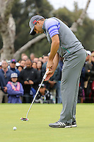 February 22, 2015: Sergio Garcia during the final round of the Northern Trust Open. Played at Riviera Country Club, Pacific Palisades, CA.