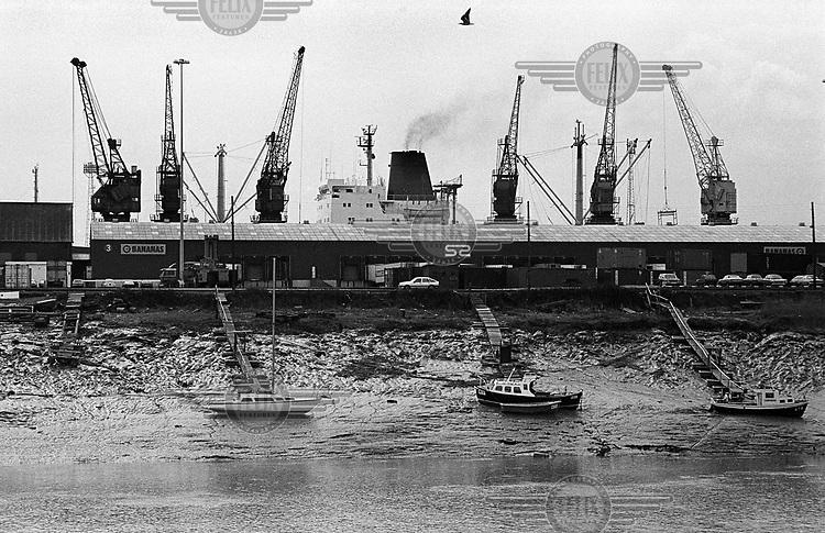 Newport docks.