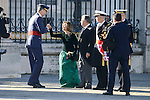 King Felipe VI and Maria Dolores de Cospedal during the Military Easter at Royal Palace in Madrid, Spain. January 06, 2017. (ALTERPHOTOS/BorjaB.Hojas)