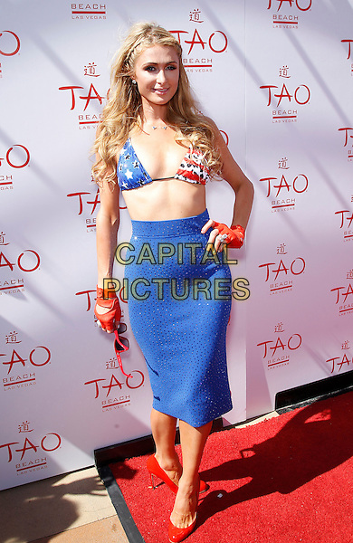 04 July 2015 - Las Vegas, Nevada -  Paris Hilton. Paris Hilton celebrates the 4th of July at Tao Beach inside The Venetian Las Vegas.   <br /> CAP/ADM/MJT<br /> &copy; MJT/AdMedia/Capital Pictures