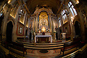 Lisbon, Portugal. 04.05.2015. Interior of the church of St Anthony (Igreja de Santo António de Lisboa). Photograph © Jane Hobson.