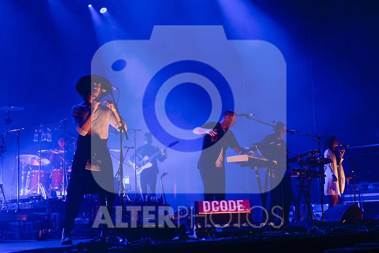 English music Jungle at Dcode music festival in Madrid. September 10, 2016. (ALTERPHOTOS/Rodrigo Jimenez)