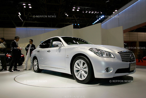 Nissan Hybrid on display during the first press day for the 41th Tokyo Motor Show, 21 October 2009 in Tokyo (Japan). The TMS will be open for the public from 23 October 2007 to 4 November 2009.