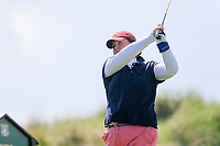 Oonagh Purfield-Goulding (Co Louth)  during the second round of the Irish Womans Open Strokeplay Championship, Co Louth Golf Club, Baltray, Drogheda, Co Louth, Ireland. 12/05/2018.<br /> Picture: Golffile | Fran Caffrey<br /> <br /> <br /> All photo usage must carry mandatory copyright credit (&copy; Golffile | Fran Caffrey)