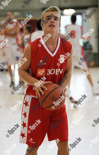 2010-08-14 / Seizoen 2010-2011 / Basketbal / Soba Antwerpen / R. Haerbos..Foto: mpics