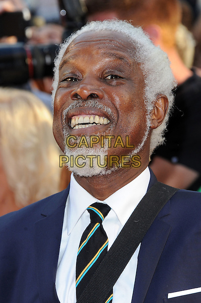 Billy Ocean.The 'Keith Lemon: The Film' world film premiere, Odeon West End cinema, Leicester Square, London, England..August 20th, 2012.headshot portrait black tie suit white shirt goatee beard facial hair smiling .CAP/BEL.©Tom Belcher/Capital Pictures.