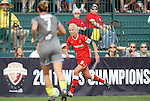 27 August 2011: Western New York's Caroline Seger (SWE) (9). Western New York Flash defeated the Philadelphia Independence 5-4 on penalty kicks to win the final after the game ended in a 1-1 tie after overtime at Sahlen's Stadium in Rochester, New York in the Women's Professional Soccer championship game.