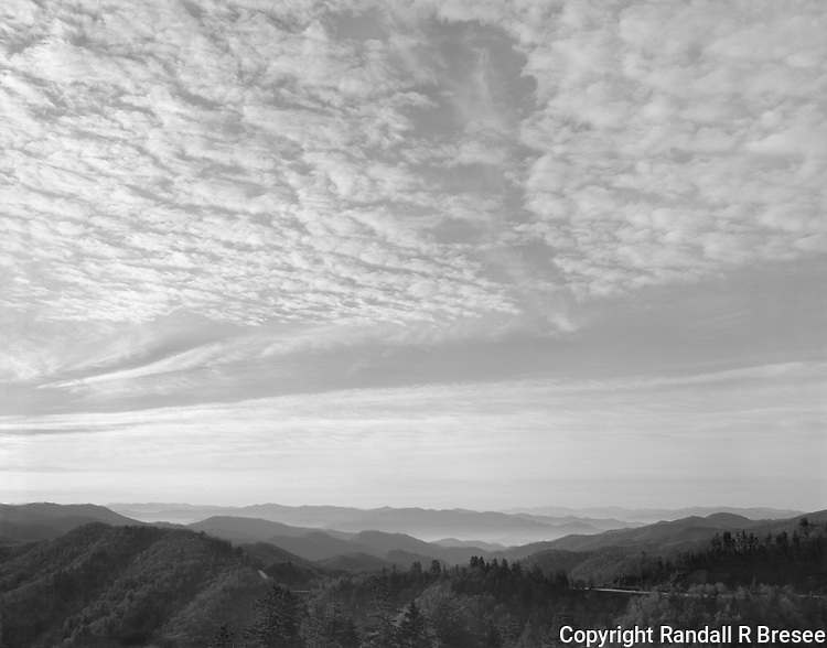 &quot;Morning Sky At Newfound Gap&quot; Great Smoky Mountains National Park, North Carolina<br />