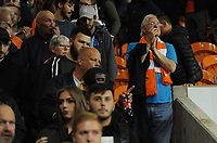 Blackpool fans applaud their team at the final whistle <br /> <br /> Photographer Kevin Barnes/CameraSport<br /> <br /> The Carabao Cup First Round - Blackpool v Macclesfield Town - Tuesday 13th August 2019 - Bloomfield Road - Blackpool<br />  <br /> World Copyright © 2019 CameraSport. All rights reserved. 43 Linden Ave. Countesthorpe. Leicester. England. LE8 5PG - Tel: +44 (0) 116 277 4147 - admin@camerasport.com - www.camerasport.com