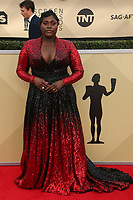 LOS ANGELES, CA - JANUARY 21: Danielle Brooks at The 24th Annual Screen Actors Guild Awards held at The Shrine Auditorium in Los Angeles, California on January 21, 2018. Credit: FSRetna/MediaPunch
