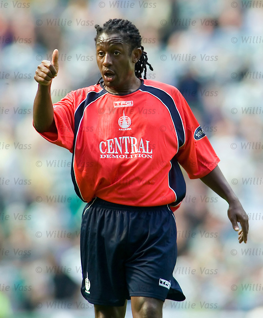 Russel Latapy, Falkirk.stock season 2005-2006.pic willie vass