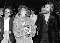 1978 <br /> New York City<br /> At Studio 54; co-owner Steve Rubell<br /> Rubell Barbara Streisand John Peters<br /> Credit: Adam Scull-PHOTOlink/MediaPunch