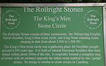 Rollright stone circle UK