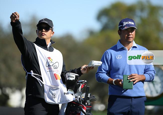 Hideki Matsuyama (JPN) during the 3rd round of the Arnold Palmer Invitational presented by Mastercard, Bay Hill, Orlando, Florida, USA. 07/03/2020.<br /> Picture: Golffile | Scott Halleran<br /> <br /> <br /> All photo usage must carry mandatory copyright credit (© Golffile | Scott Halleran)