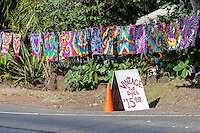 Handmade vintage tie-dye t-shirts for sale, North Shore, O'ahu