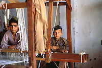 Pakistan Peshawar  1986..Young Afghan Boys in Refugee Camp