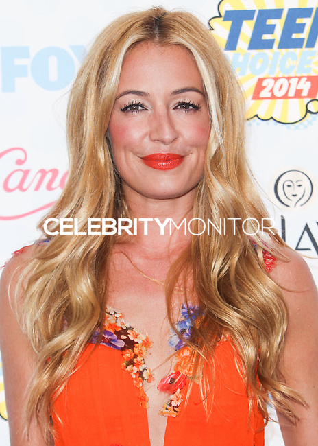 LOS ANGELES, CA, USA - AUGUST 10: Cat Deeley arrives at the Teen Choice Awards 2014 held at The Shrine Auditorium on August 10, 2014 in Los Angeles, California, United States. (Photo by Celebrity Monitor)