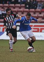 Dunfermline Athletic v Rangers 110212