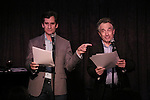 Seth Rudetsky and Chip Zien performing at the Seth Rudetsky Book Launch Party for 'Seth's Broadway Diary' at Don't Tell Mama Cabaret on October 22, 2014 in New York City.