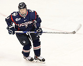 Theresa Knutson (UConn - 3) - The Boston College Eagles defeated the visiting UConn Huskies 4-0 on Friday, October 30, 2015, at Kelley Rink in Conte Forum in Chestnut Hill, Massachusetts.