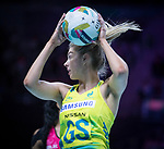 28/10/17 Fast5 2017<br /> Fast 5 Netball World Series<br /> Hisense Arena Melbourne<br /> Australia v New Zealand<br /> Kaylia Stanton<br /> <br /> <br /> <br /> <br /> Photo: Grant Treeby