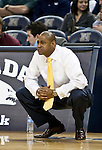 January 21, 2012:    Fresno State Bulldogs head coach Rodney Terry during their game against the Nevada Wolf Pack played at Lawlor Events Center on Saturday night in Reno, Nevada.