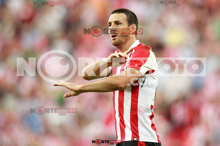 Athletic Club de Bilbao's Aritz Aduriz during Europa League Third Qualifying Round, 2nd leg. April 5,2012. (ALTERPHOTOS/Acero) /NortePhoto.com