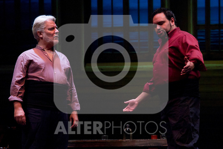 31.07.2012. Press Pass at the Teatro Cofidis in Madrid, the Zarzuela 'The port tavern'. (Alterphotos/Marta Gonzalez)