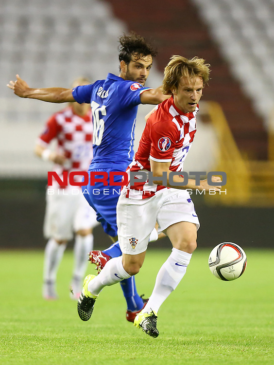 12.06.2015., Croatia, stadium Poljud, Split - Qualifying match for the European Championship to be held in 2016 in France, Group H, Round 6, Croatia - Italy.Ivan Rakitic<br />  <br /> Foto &copy;  nph / PIXSELL / Slavko MidzorL;