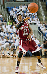 March 1, 2012: New Mexico State Aggies guard Daniel Mullings passes the ball against the Nevada Wolf Pack during their NCAA basketball game played at Lawlor Events Center on Thursday night in Reno, Nevada.