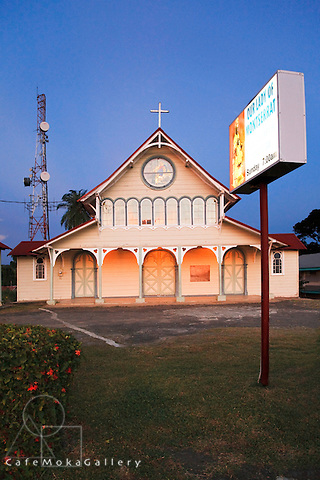 Our Lady of Montserrat Church, Tortuga Central Trinidad