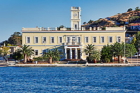 The palace of Otto in Poros island, Greece