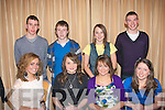 5953-5958.FIT PARTY: Having good fun at the Tralee Harriers prize night at the Fels Point Hotel, last Friday night were seated l-r: Dearbha?il Foley, Ciara Walsh, Molly McGilton and Kate Boyd. Back l-r: Michael Godley, Cian Foley, Laura Lynch and Paudie Whelan.
