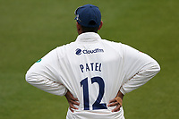 Rishi Patel of Essex during Surrey CCC vs Essex CCC, Specsavers County Championship Division 1 Cricket at the Kia Oval on 12th April 2019