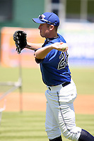 June 14th 2008:  Matt Hoffman of the West Michigan Whitecaps, Class-A affiliate of the Detroit Tigers, during a game at Fifth Third Ballpark in Comstock Park, MI.  Photo by:  Mike Janes/Four Seam Images
