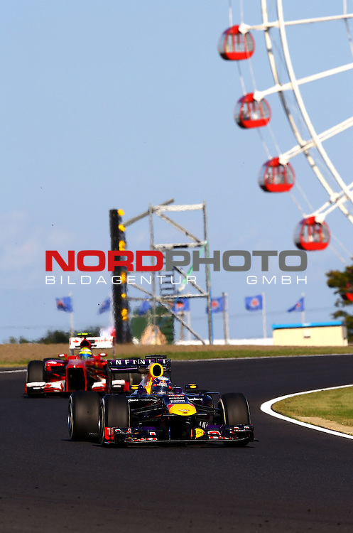 11. 13.10.2013, Suzuka International Racing Course, Suzuka, JPN, F1, Grosser Preis von Japan, Suzuka, im Bild  Sebastian Vettel (GER), Red Bull Racing <br /> for Austria &amp; Germany Media usage only!<br />  Foto &copy; nph / Mathis