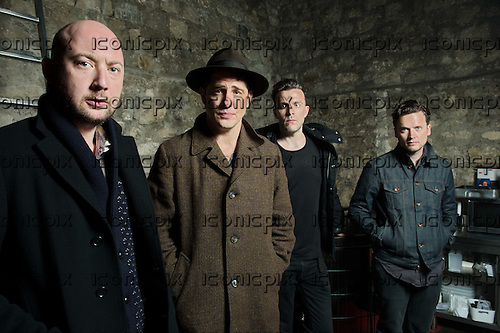 AUGUSTINES<br />  - Photosession in Paris France - 25 Apr 2014.  Photo credit: Manon Violence/Dalle/IconicPix