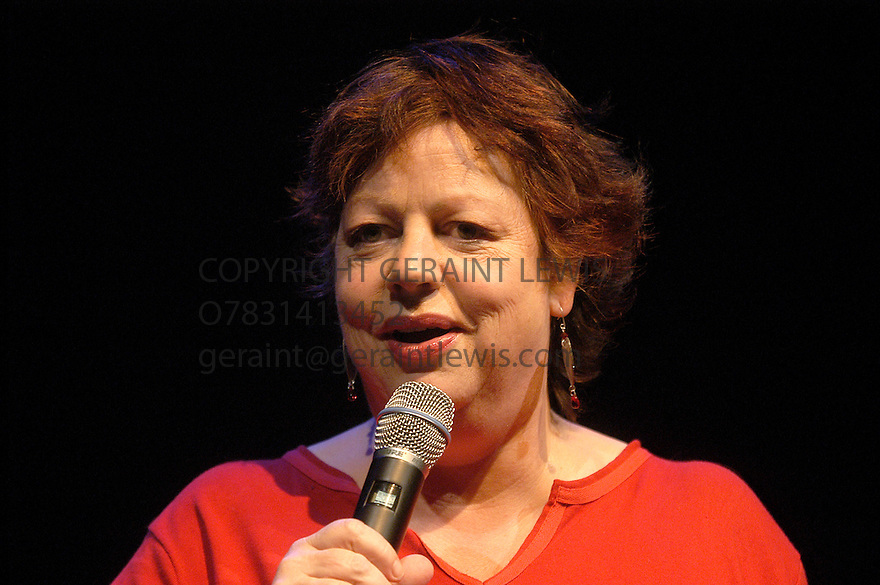 Jo Brand performing live  at the Edinburgh Festival CREDIT Geraint Lewis