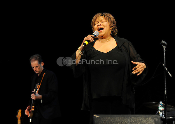 Mavis Staples performing live at Central Park Summerstage in New York City on June 13, 2008. © David Atlas / MediaPunch