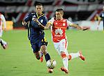 Independiente Santa Fe apaleó 4-1 a Uniautónoma este sábado por la noche en Camín de Bogotá en un desafortunado partido en defensa del equipo de Barranquilla.