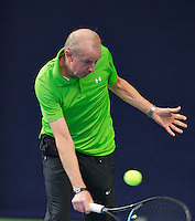 Hilversum, The Netherlands, March 12, 2016,  Tulip Tennis Center, NOVK, Martin Koek (NED)<br /> Photo: Tennisimages/Henk Koster