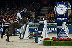 Jessica Mendoza of United Kingdom rides Spirit T in action at the Longines Grand Prix during the Longines Hong Kong Masters 2015 at the AsiaWorld Expo on 15 February 2015 in Hong Kong, China. Photo by Juan Flor / Power Sport Images